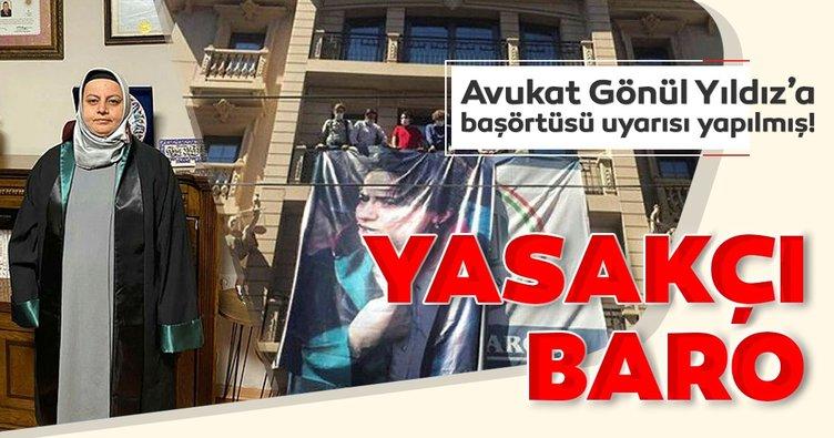 İşte İstanbul Barosu'nun yasakçılığını gösteren o yazı!