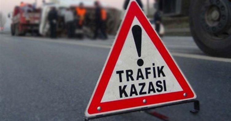 Bolu'da trafik kazası: 2 yaralı!
