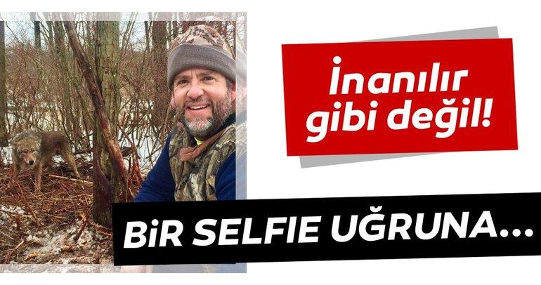 İnanılır gibi değil! Bir Selfie uğruna... Fotoğrafı görenler şaşkına döndü