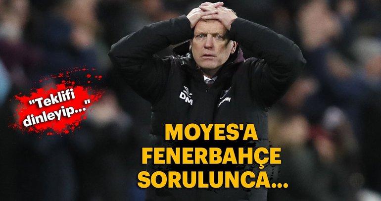 Moyes'tan Fenerbahçe açıklaması