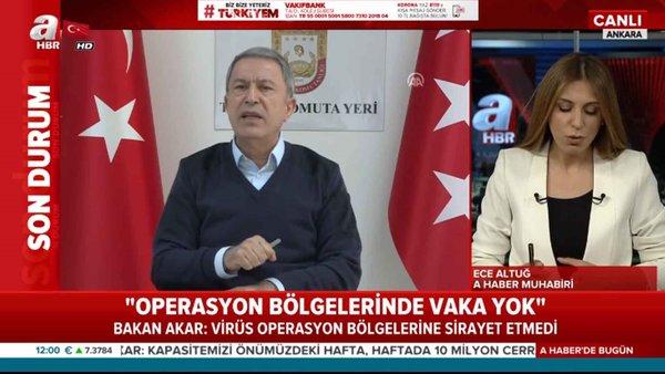 Milli Savunma Bakanı Hukusi Akar: Koronavirüse karşı ilaç üretimine başlayacağız
