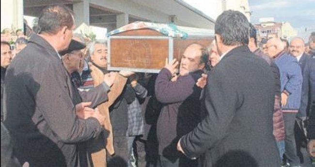 Osman Ayık'ın annesine son veda