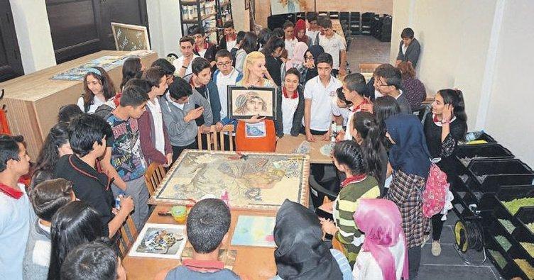 Mozaik eğitim merkezi açıldı