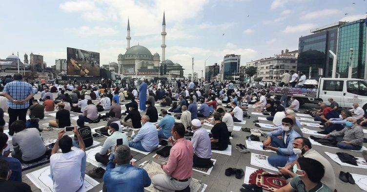 Tarihi günde Taksim Camii açıldı! Başkan Erdoğan: 150 yıllık hayalimize kavuştuk