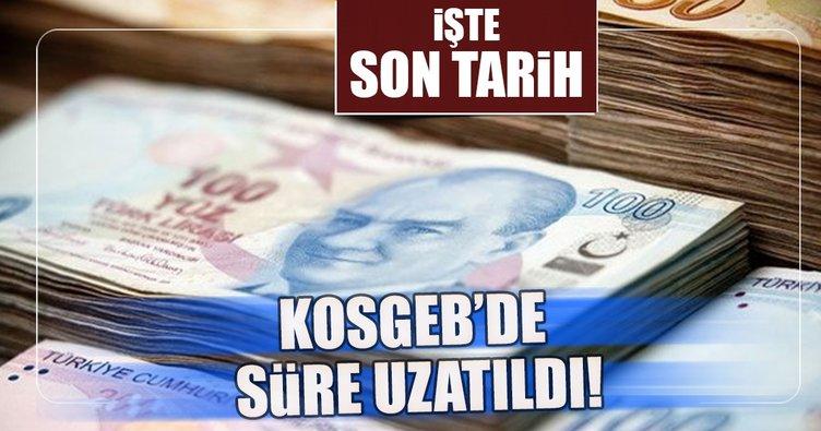KOSGEB'in faizsiz kredi kullanımında süre uzatıldı
