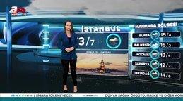 Son dakika! Meteoroloji'den İstanbul için yağış uyarısı 11 Şubat 2020 Salı Hava durumu...