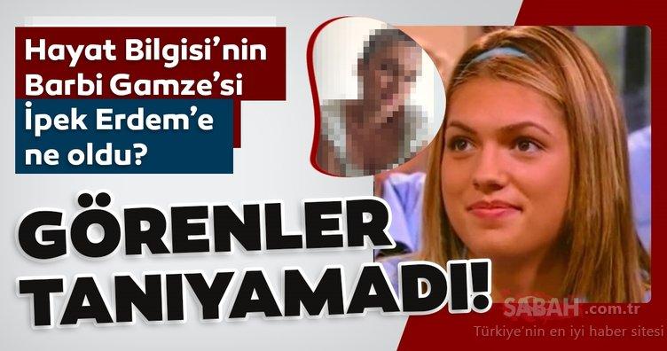 Hayat Bilgisi'nin Barbi Gamze'si olarak tanınmıştı! Görenler şaşkına döndü! İpek Erdem'in son hali adeta başka biri...