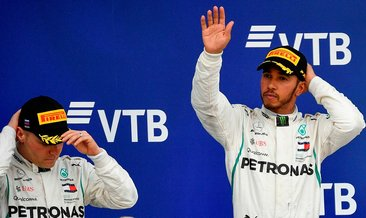 Formula 1 Rusya GP'de zafer Lewis Hamilton'ın