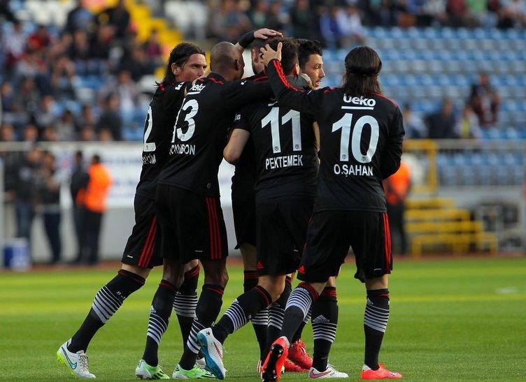 Kasımpaşa - Beşiktaş maçının fotoğrafları