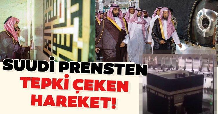 Suudi Prens'ten tepki çeken hareket!