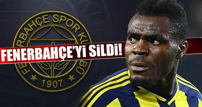 Emenike Fenerbahçe'yi sildi