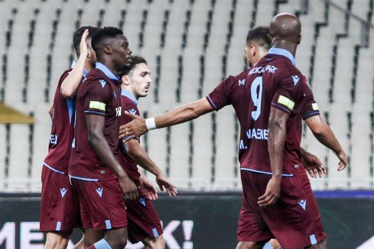 AEK - Trabzonspor maçından kareler