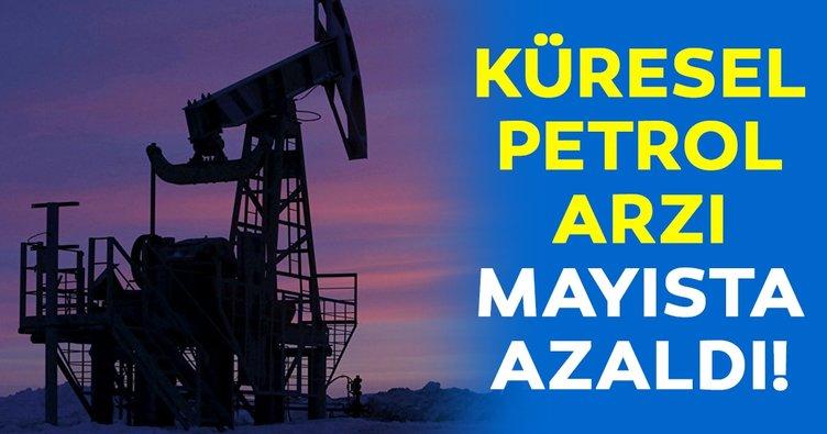 Küresel petrol arzı mayısta azaldı!