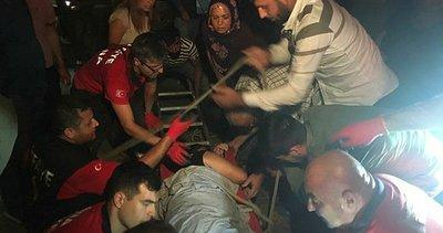 Adana'da genç kız komşusunun damına düştü
