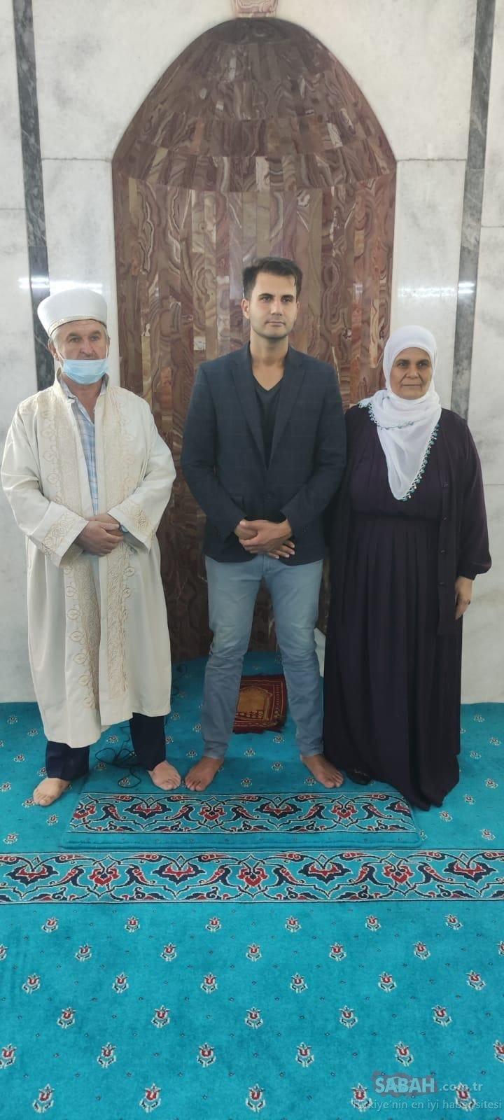 Müge Anlı'da ailesini bulmuştu! Vedat Alexander 33 yıl önce terk edildiği camide Müslüman oldu - Son Dakika Haberler