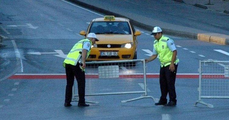 İstanbul'da bugün bu yollara dikkat! Bu yollar kapalı...