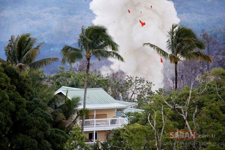 Hawaii'de yanardağ tehlikesi devam ediyor...