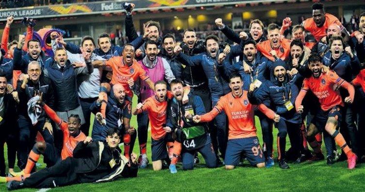 Başakşehir Sporting Lizbon'u bozguna uğrattı