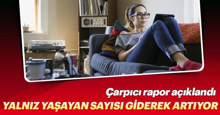 Türkiye'de 3.5 milyon kişi yalnız yaşıyor