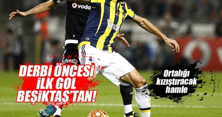 Beşiktaş'tan Fenerbahçe'ye derbi öncesi transfer golü mü geliyor?