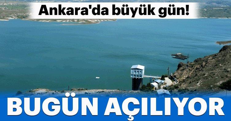 Ankara'da büyük gün! Vanalar bugün açılıyor...