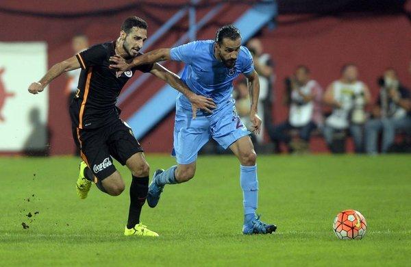Trabzonspor - Galatasaray maçından kareler