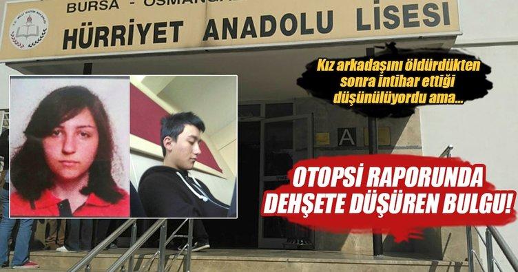 Bursa'da sınıfta dehşette ilginç bulgu!