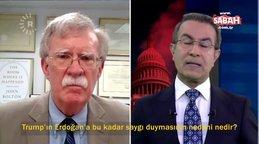 ABD eski Ulusal Güvenlik Danışmanı John Bolton flaş itiraf:  Trump Erdoğan'a direnemiyor | Video