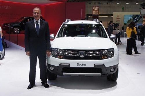 Dacia Duster Frankfurt Otomobil Fuarı'nda