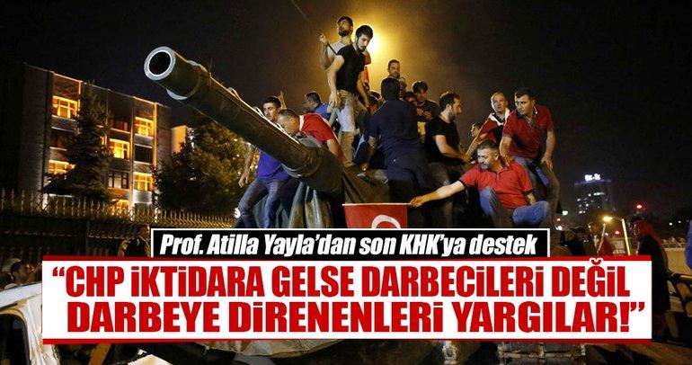 Prof. Atilla Yayla'dan son KHK'ya destek