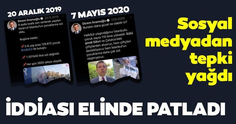 Ekrem İmamoğlu'nun bir iddiası daha elinde patladı! Sosyal medyada tepki...