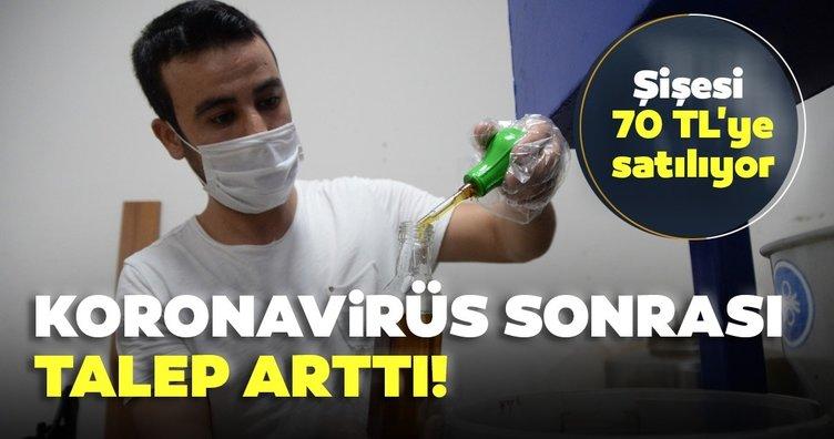 Son dakika: Koronavirüs vaka sayısı artışı ile talep arttı! Şişesi 70 TL!