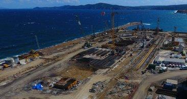 Çanakkale'ye 'uçak gemisi' için dev havuz
