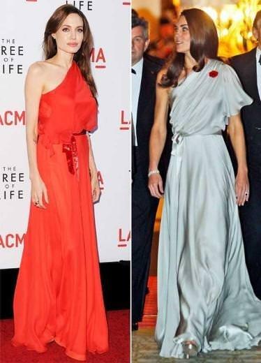 Aynı elbise hangisine yakıştı