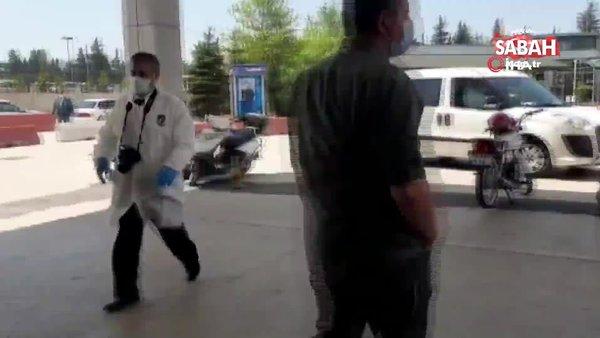 Hastanede oksijen tüpü patladı: 1 yaralı | Video