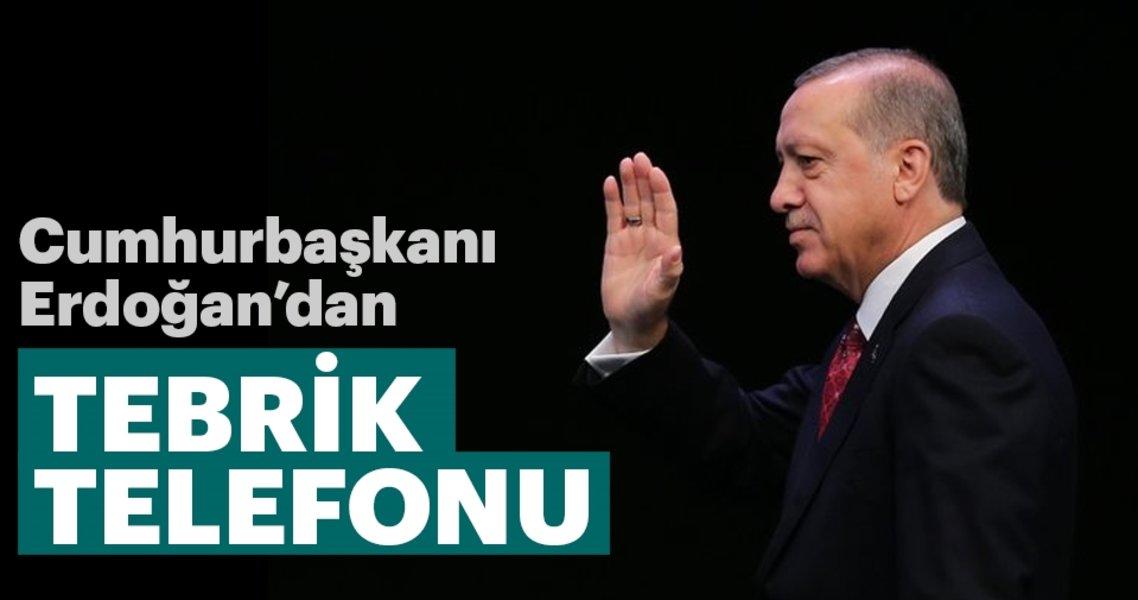 Cumhurbaşkanı Erdoğan'dan Mukteda Es-Sadr'a tebrik