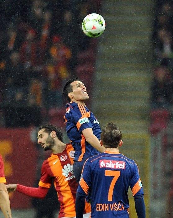 Galatasaray - İstanbul Başakşehir maçından kareler