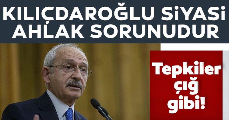 Kılıçdaroğlu'nun skandal sözlerine tepkiler çığ gibi!