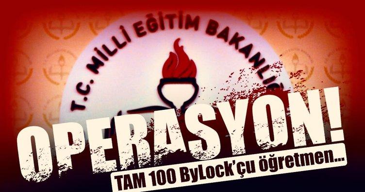 100 ByLock'çu öğretmene daha operasyon!