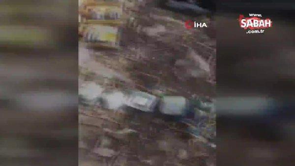 Son Dakika Haberi: Milli Savunma Bakanlığı'ndan flaş paylaşım! Sığınakta ele böyle geçirildi   Video