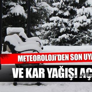 Meteoroloji'den son dakika hava durumu açıklaması! İstanbul'a kar ne zaman yağacak?
