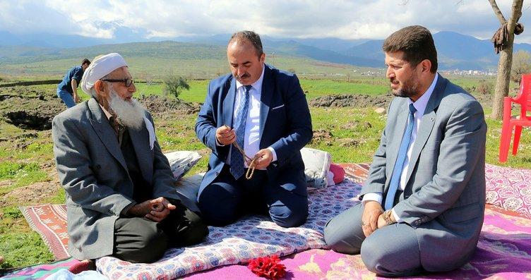 Muhammet dede Cumhurbaşkanı Erdoğan ile buluşacak