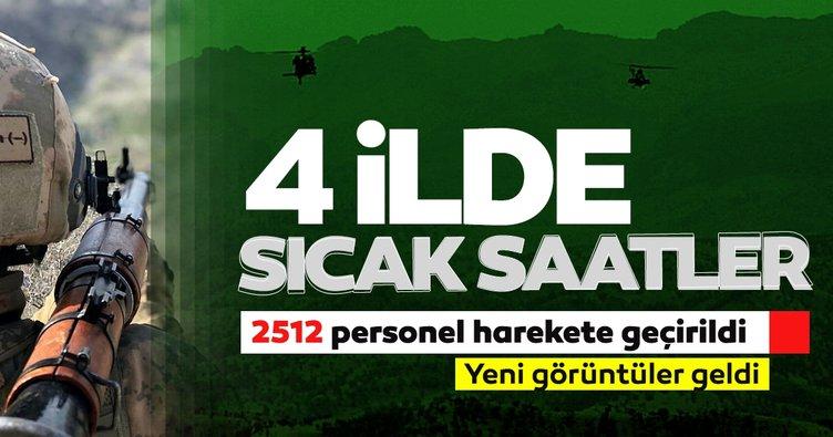 Son dakika haberi: 3 ilden sıcak haberler geldi! 2 bin 512 personelle büyük operasyon başladı...