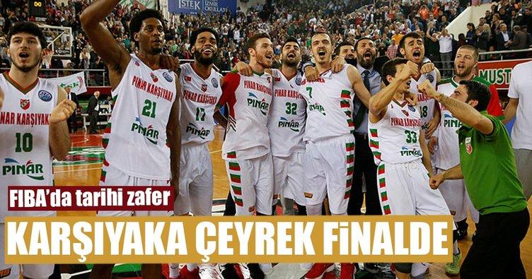 Kaf-Kaf FIBA Şampiyonlar Ligi'nde çeyrek finalde