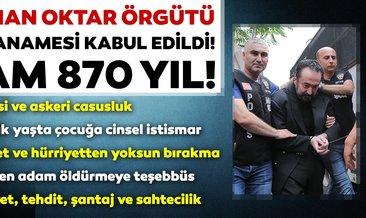 Son dakika haberi: Adnan Oktar suç örgütüne yönelik iddianame kabul edildi