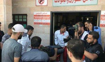 İsrail, Gazze'yi bombaladı: 3 ölü,1 yaralı