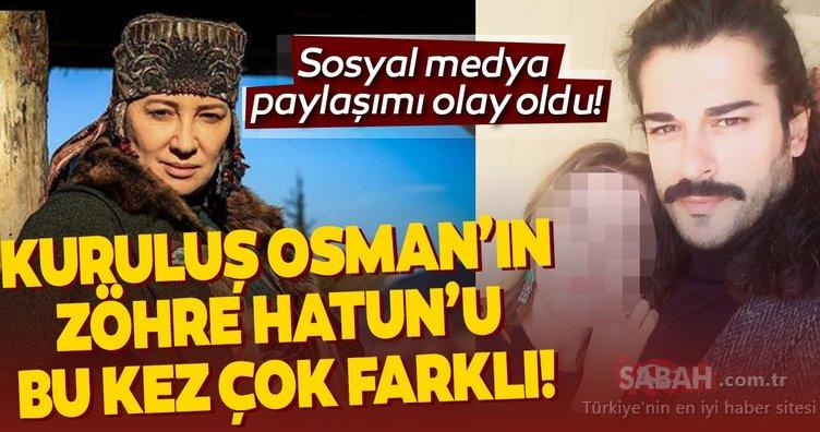 Kuruluş Osman'ın Zöhre Hatun'u Ayşegül Günay'ın bu hali çok farklı! Selcan Hatun ile Zöhre Hatun arasında nasıl bir gerilim yaşanacak?