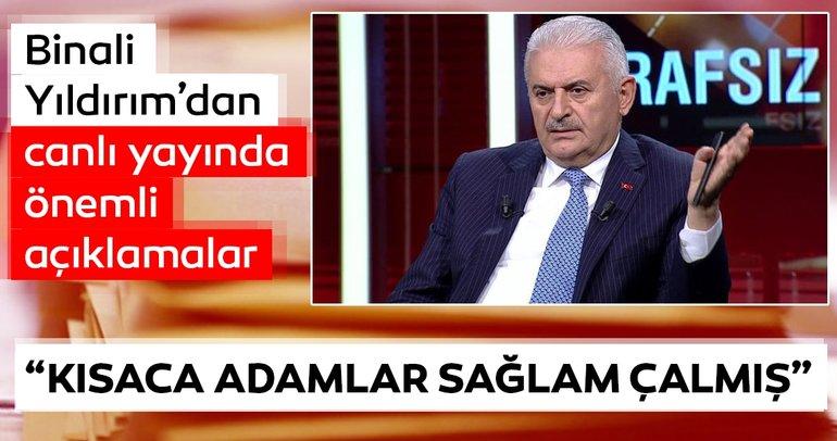 İstanbul Belediye Başkan adayı Binali Yıldırım'dan flaş açıklamalar