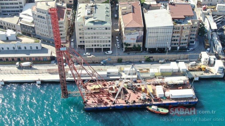 Dev projede sona gelindi! İşte Galataport'un son hali...