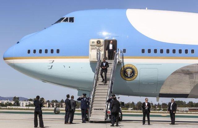 Hangi lider hangi uçağa biniyor?